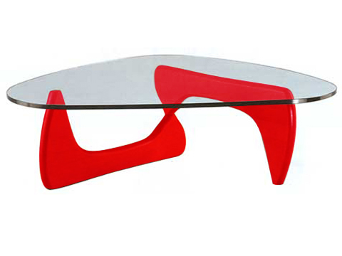 Noguchi Coffee Table Red