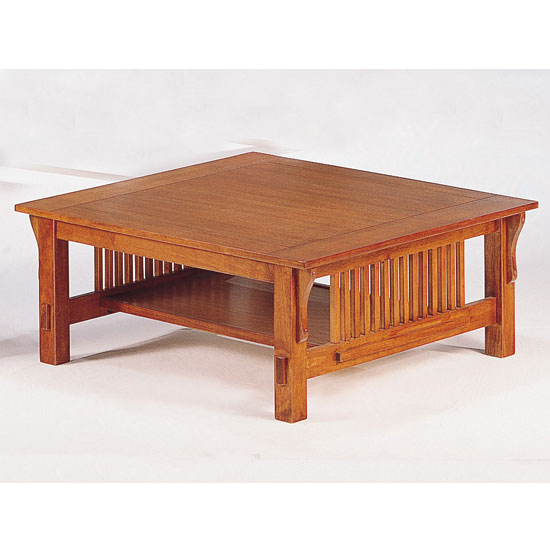 Square Mission Coffee Table