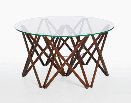 modern folding coffee table